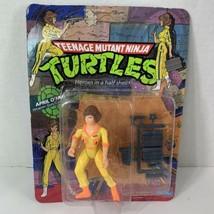 Teenage Mutant Ninja Turtles Playmates April O'Neil unpunched, red stripe  - $98.01