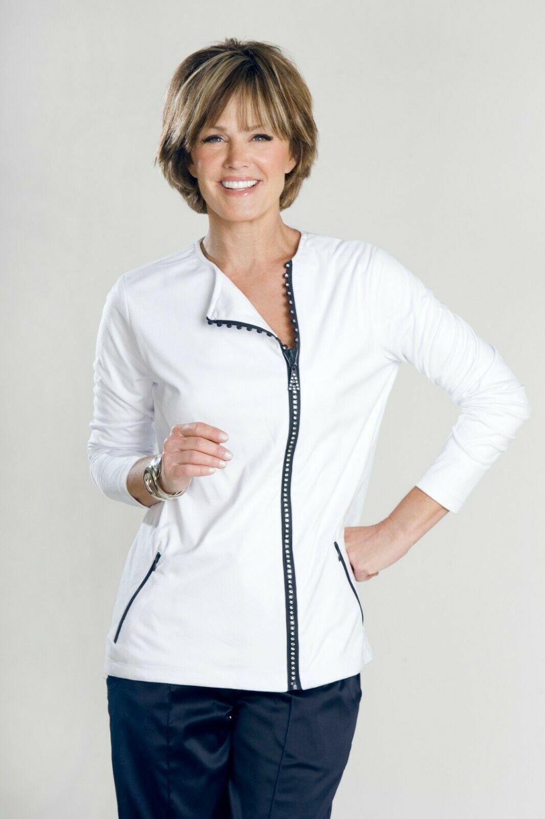 Women's Dark Navy Skort with White Pinstripes - New - Goldenwear image 10