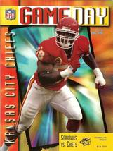 1995 seattle seahawks vs chiefs football program magazine kingdome - $5.99