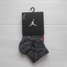Nike Jordan Elephant Print Socks - SX5858 - Gray 011 - S/CH - NWT - $9.99