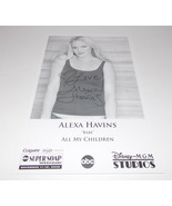 Alexa Havins Autograph Reprint Photo 9x6 All My Children 2006 Torchwood - $4.99