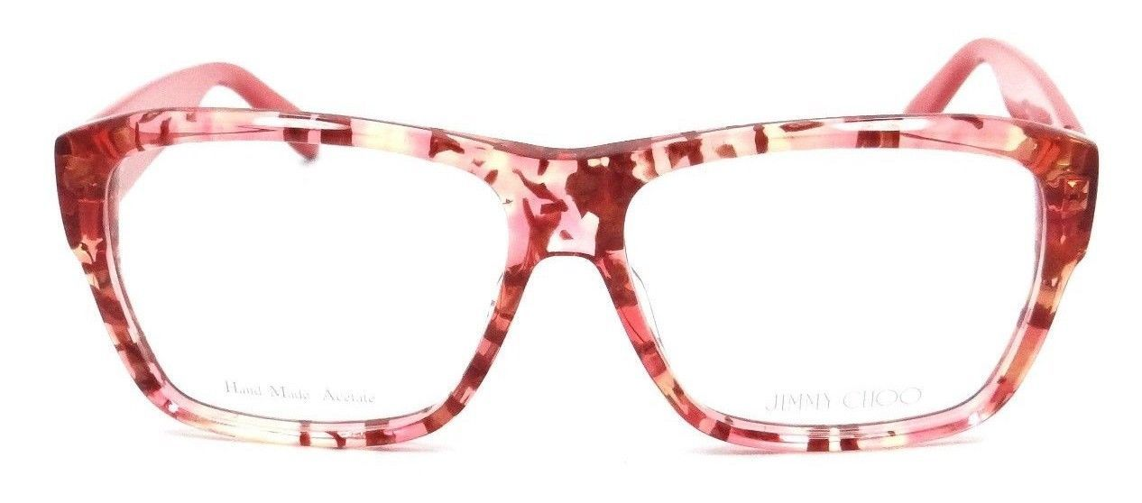 4670484933 Jimmy Choo Rx Eyeglasses Frames JC 116 W13 56-14-140 Coral Spotted Made