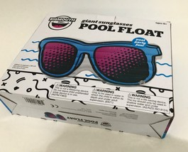 NEW Big Mouth Giant Sunglasses Inflatable Swimming Pool Float Mat Lounge - €14,02 EUR