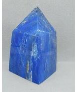 Maximum Blue Lapis Lazuli with pyrite Obelisk Tower statue Crystal 835gm  - $94.05
