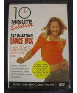 10 Minute Solution: Fat Blasting Dance Mix (DVD, 2006) New Sealed - $9.95