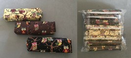 new SET of 8 Owl PENCIL CASE Pen Pouch School Bag Perfect GOODIE BAGS ma... - $14.75