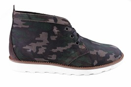 WeSc Lawrence Mid Top in Walnut Camo Leather mid top Shoes NIB image 2