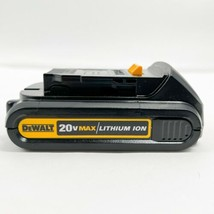 DEWALT DCB201 20V MAX 1.5 Ah Lithium-Ion Battery NWOB- Genuine - $77.39