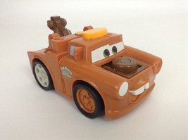 Disney Cars 2 Fisher Price Talking Tow Mater Flashlight w/ Batteries Tow... - $14.80