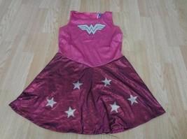 Women's Juniors Wonder Woman L Dress Halloween Costume (Pink) Justice Le... - $14.01