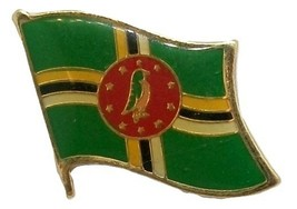 Dominica Flag Hat Tac or Lapel Pin - $6.84