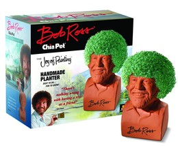 Chia Pet Bob Ross, the Joy of Painting Decorative Pottery Planter, Easy ... - ₹4,551.63 INR