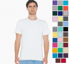 2001W American Apparel Imported Unisex Fine Jersey Tee -35 COLORS- New - $7.91+