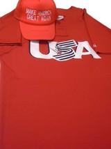 Donald Trump United States President Signed USA Baseball Jersey Maga Hat... - $969.99