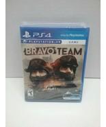 Bravo Team (Sony PlayStation 4, 2018) New & Sealed  - $17.00
