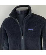 Patagonia Jacket Retro X Deep Pile Fleece Sherpa Black Medium Ski Coat F... - $219.99