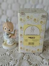 Enesco Precious Moments Porcelain Loving Caring Sharing.com Figure 1999 - $14.54