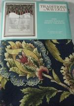 Traditions By Waverly Grand Bazaar Kristy Valance 52w X 16 L Jewel Blue - $18.95