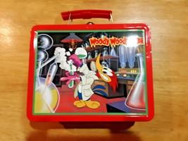 Woody Woodpecker Mini Tin Lunch Box - 1999 - Used VG - Free Shipping - $14.84
