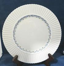 "Priscilla by Lenox Dinner Plate 10 3/4"" Temple Shape Blue Floral Pink Line - $18.32"
