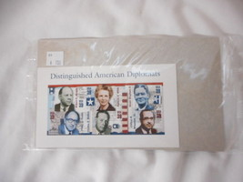 American Diplomats Pane of 6 - Mint NH VF Original pk - $5.12