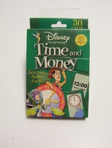 Disney Learning Time And Money 36 Flash Cards Homeschool Teacher Resource - $3.99