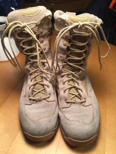 "Primary image for Danner Desert 26014 TFX Rough-Out Hot 8"" Tan Military Work Men US 6.5 D Boots"