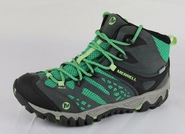 Merrell women's unifly select dry hiking shoes boots vibram laces gray size 6 - $39.95