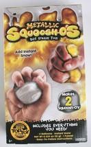 NEW Horizon Group Metallic Squoosh-o's Stress Toys DIY Craft Activity Kit