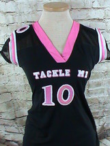 Dream Girl Tackle Me Jersey Shirt Size Small - $9.89