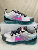 Nike Air Vapormax 2019 South Beach Platinum/Pink Blast Women's Sz 6.5 AR... - $153.43