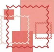 QuicKutz Nesting Rick Rack Squares Dies, Set of 6 #091-6