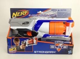 Hasbro Nerf Gun N-Strike Elite Strongarm Revolver Blaster w/Darts -In Box - $28.66