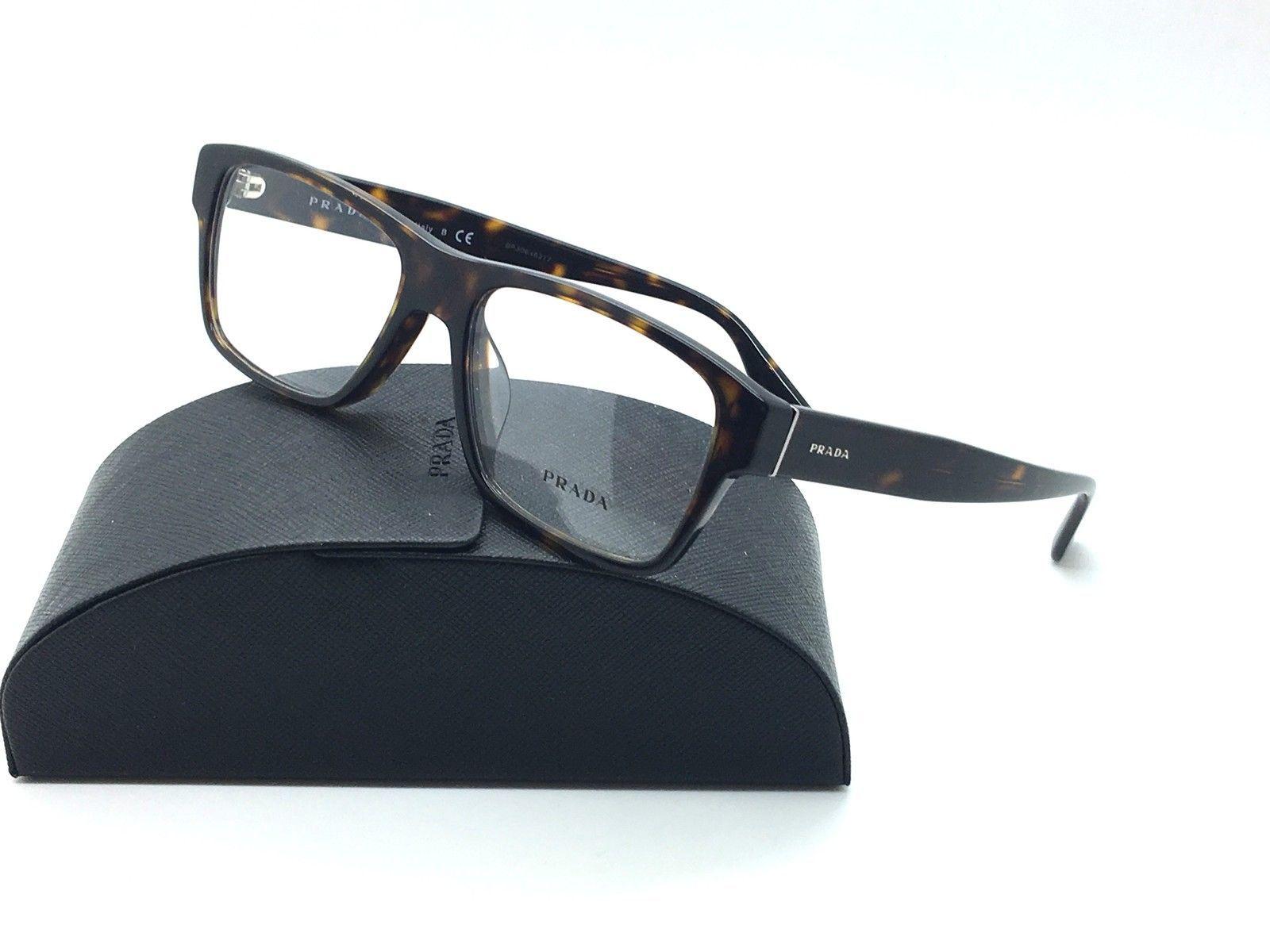 75e758fed481 S l1600. S l1600. Prada Havana Eyeglasses VPR 17S F 2AU 1O1 55 mm Designer  Demo Lenses. Free Shipping