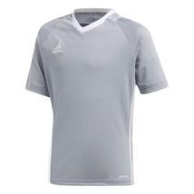 adidas Youth Tiro 17 Jersey Light Grey-white Large - $30.52