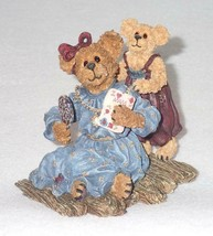 Boyd Bearstone Resin Bears Karen Every Mom and Jewel Figurine #82500 - $9.46