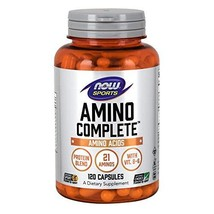 NOW Sports Nutrition, Amino CompleteTM with Vitamin B-6, 120 Capsules