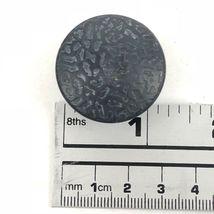 Vintage Hyer Drawer Knobs Cabinet Pulls Handles 3 Pc Dark Metal Mushroom  image 5