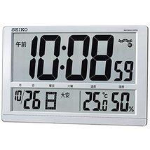 Seiko Clock Clock Wall Clock Table Clock Combined Digital Radio Clock Temperatur - $187.88