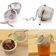 Arshen Tea Infusers Chained Lid Stainless Steel Mesh Ball Filter Strainer Tools image 11
