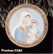 QX6251 Precious Child 1996 Hallmark Keepsake Ornament - $7.25