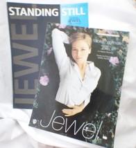 Lot/2 JEWEL Vtg 1995 Foolish Games & 2001 Standing Still Sheet Music wit... - $16.61