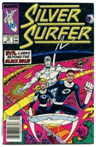 Silver Surfer 15 NM- 9.2 Fantastic Four Third Series Marvel Comics 1988 - $5.93