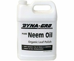 Dyna-Gro Pure Organic Neem Oil 1 Gallon 100% Natural Free Of Water Or Ad... - $121.02