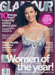 GLAMOUR 2005 DEC-Women Of The Year;CATHERINE ZETA-JONES