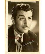 Robert Taylor Hand Autographed Postcard Hollywood CA - $19.95
