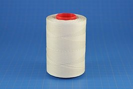 0.6mm Cream Ritza 25 Tiger Wax Thread For Hand Sewing. 25 - 125m length (125m) - $27.44
