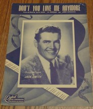 Vintage Sheet Music - Don't You Love Me Anymore - 1947 Edition - VGC - A... - $5.93