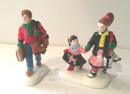 Dept 56 Snow Village Accessory Everybody Goes Skating at Rollerama #54928 - $6.95