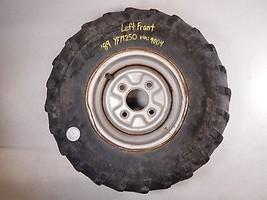 "89 YAMAHA YFM250 YFM 250 MOTO 4 LEFT FRONT WHEEL RIM 8"" - $39.99"